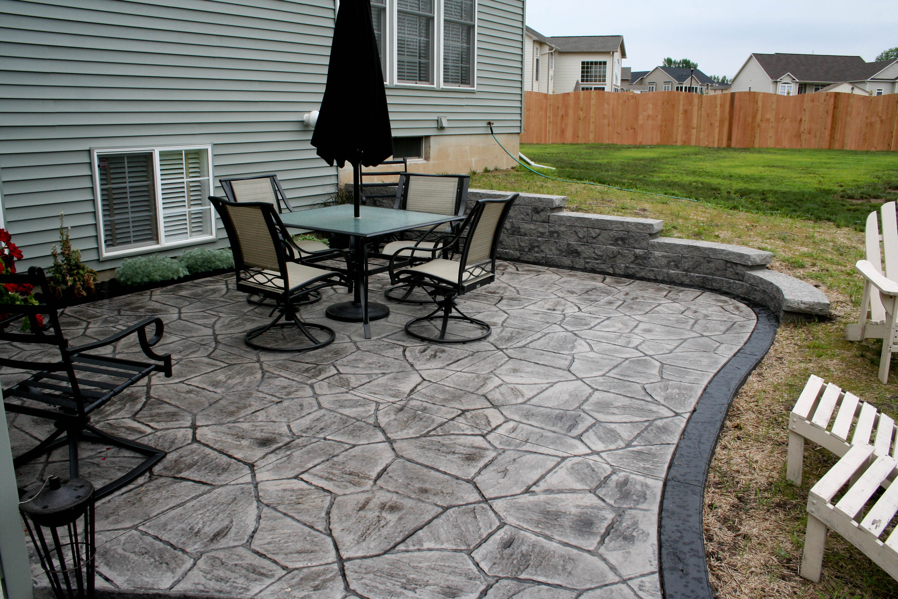 Stamped Concrete | ProLawn & Landscaping